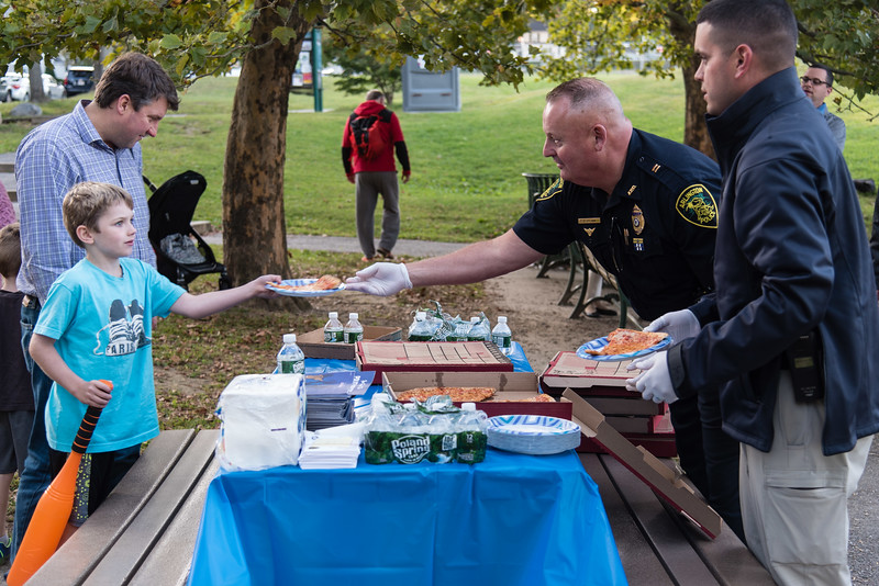 Pizza with Police at the Park 2019_ERF4471