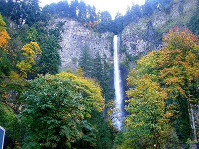 Multnomath Falls Columbia River Gorge