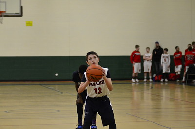 6th gr. Paradise basketball Vs. OE Wolf Pack 2015