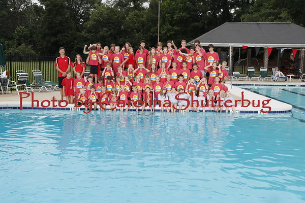 2018 Summer Swim Teams