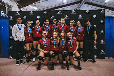2019 Club Provincial Championships - 15U Girls Awards and Medals