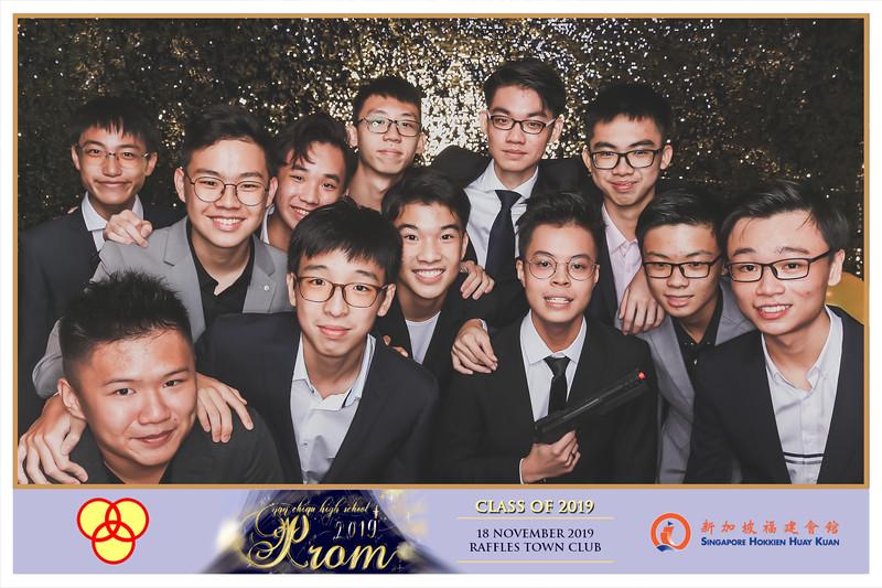 Nan Chiau High School 2019 Prom Night   © www.SRSLYPhotobooth.sg