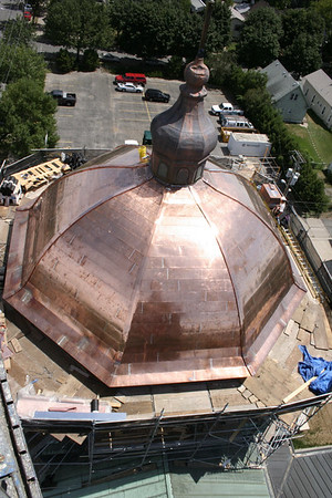 St. Mary's Orthodox Cathedral Renovation Views from Above