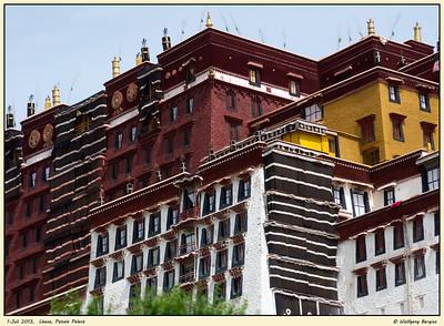 Lhasa, Potala Palast, 1. Juli 2013