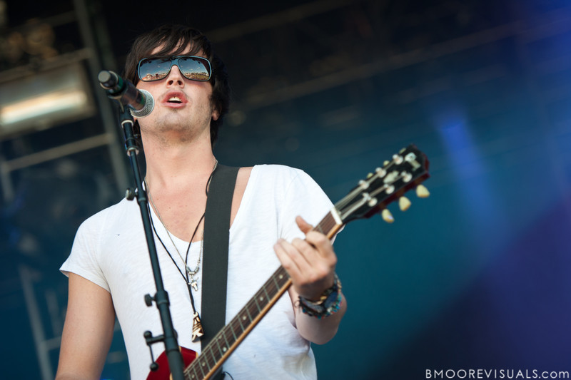 """Will Anderson of Parachute performs on November 12, 2011 during """"Orlando Calling 2011"""" at The Citrus Bowl in Orlando, Florida"""