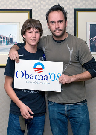 Dave Matthews - Obama Richmond