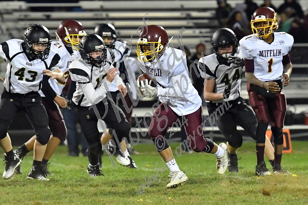 Berks Catholic VS Governor Mifflin Varsity Senior Night 2016