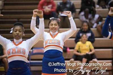12/18/2017 Watkins Mill HS Varsity Cheerleading, Photos by Jeffrey Vogt Photography