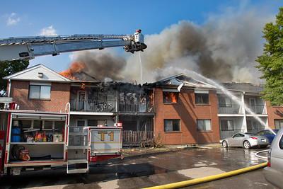Success Hill Condos Fire (Stratford, CT) 8/29/18