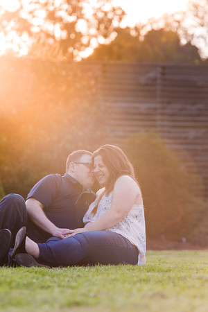 Amanda & TJ | A Happy, Goofy Engagement at JC Raulston Arboretum in Raleigh