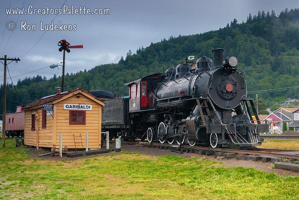 Oregon Coast Scenic Railroad - Garibaldi, Oregon