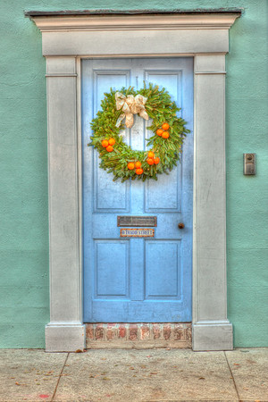 Historic Charleston Front Doors