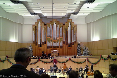 Libby Garner Concert Hall, U-of-U, for Handel's Messiah.