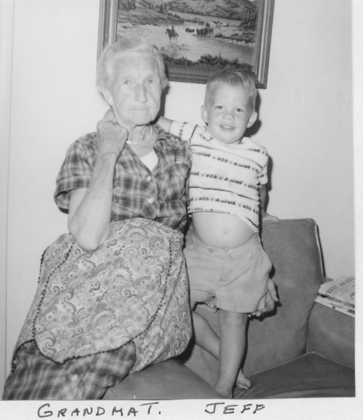 Grandma Trogdon, Jeff