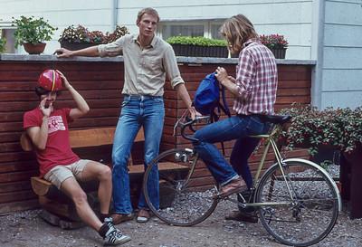 September 2014: Bernd restauriert sein Fahrrad