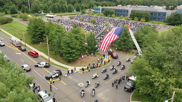 Aerial Views of CT United Ride (Norwalk, CT) 9/9/18