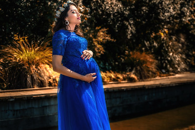 Heemali's pregnancy photo shoot