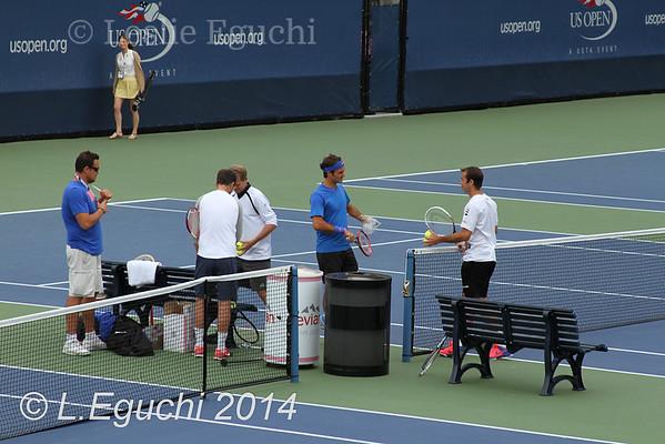 Roger Federer 2014 US Open