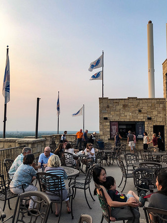Evening at Oread Hotel