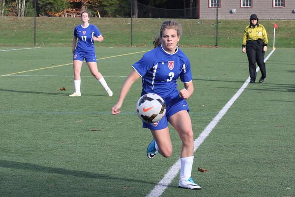 Girls' JV Soccer vs. Brewster | November 5