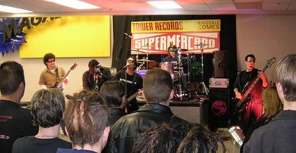 Supermercado Live At Tower Records