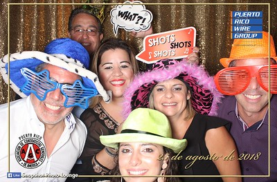Puerto Rico Wire Group Photo Booth @ ACG 2018