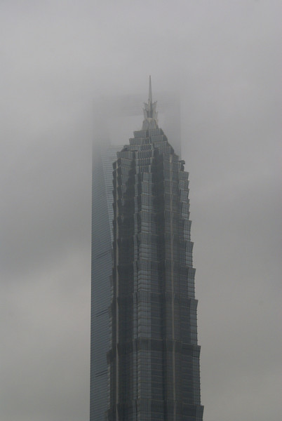 Lost in the clouds in Shanghai