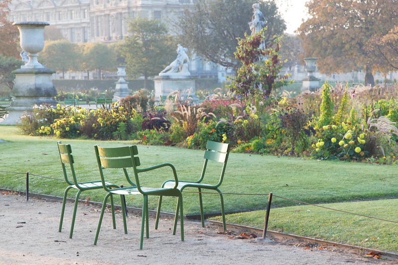 Paris Tuileries Morning