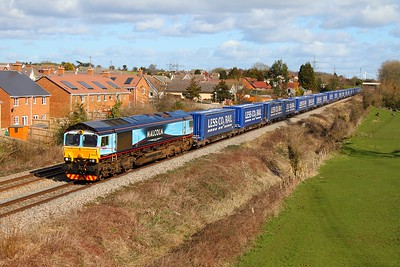 Class 66 (DRS and Fastline)