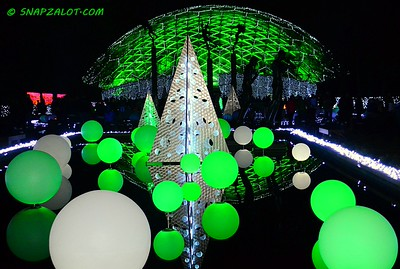 "Missouri Botanical Garden - ""Garden Glow"" Holiday Light Exhibit 12/23/14"
