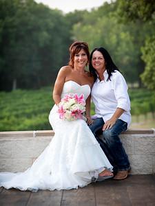 Marybeth & Tammy Wedding at Mitas Hill Vineyard