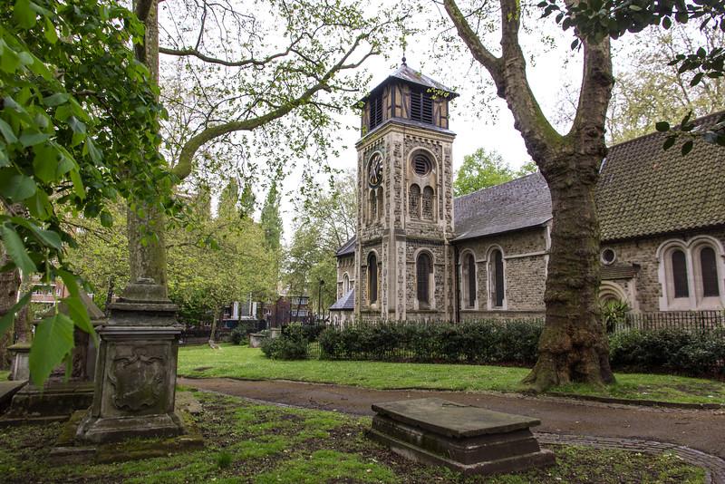 London, St. Pancras Old Church