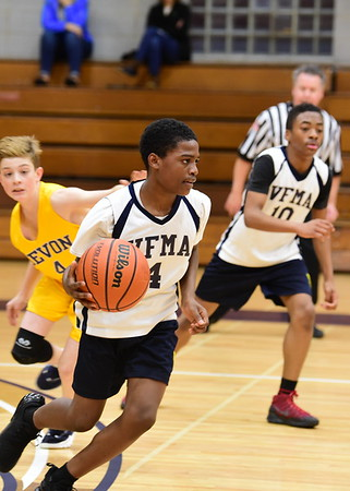 Middle School Basketball vs Devon