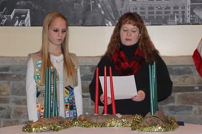 Rachael Paisley, Gold Award, Girl Scouts, La Dolce Casa, Tamaqua (11-22-2014)