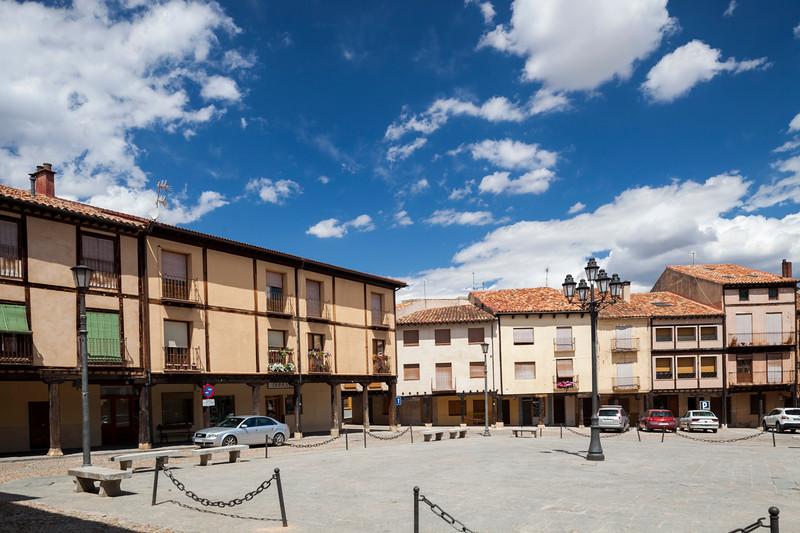 Plaza Mayor (Main Square), Berlanga de Duero, Soria, Spain