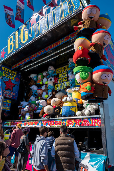 Stuffed toys at NC State Fair 2016