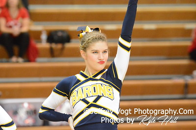 1-30-2016 BCC HS Varsity Poms at Damascus HS, Photos by Jeffrey Vogt Photography with Kyle Hall