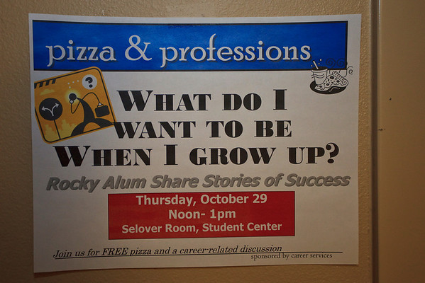 Pizza & Professionals (10.29.09)