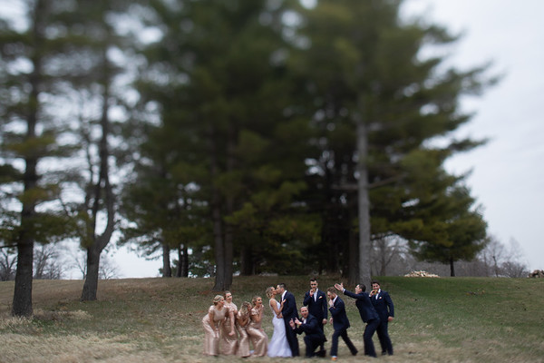 Bridal Party Pines