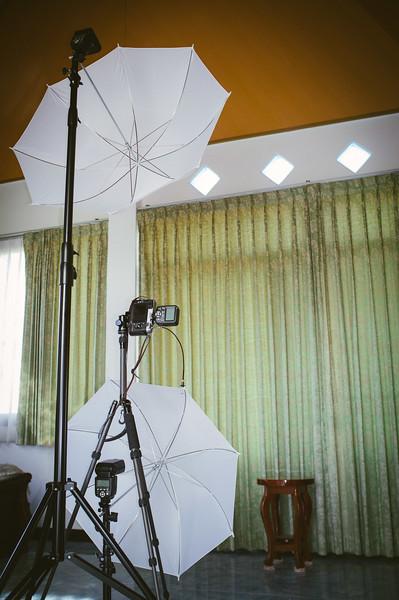 Butterfly lighting setup