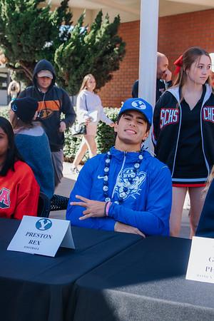 Senior Sports Signing