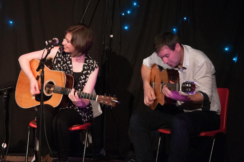 Jenn Butterworth and Tim Edey