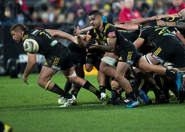 Te Toiroa Tahuriorangi during game 8 of the British and Irish Lions 2017 Tour of New Zealand,The match between  Hurricanes and British and Irish Lions, Westpac Stadium, Wellington, Tuesday 27th June 2017 (Photo by Kevin Booth Steve Haag Sports)  Images for social media must have consent from Steve Haag