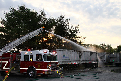 Tractor Trailer Fire 6-4-11