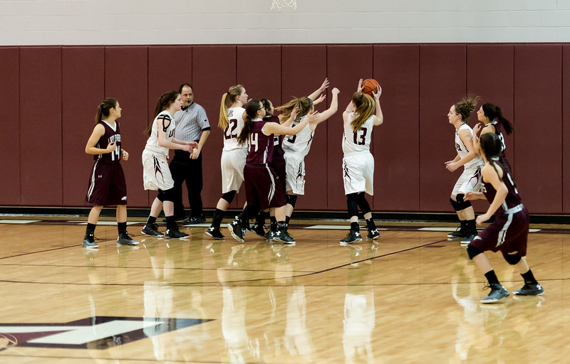 Lady Lopes Basketball vs Ralls, 2-9-2016
