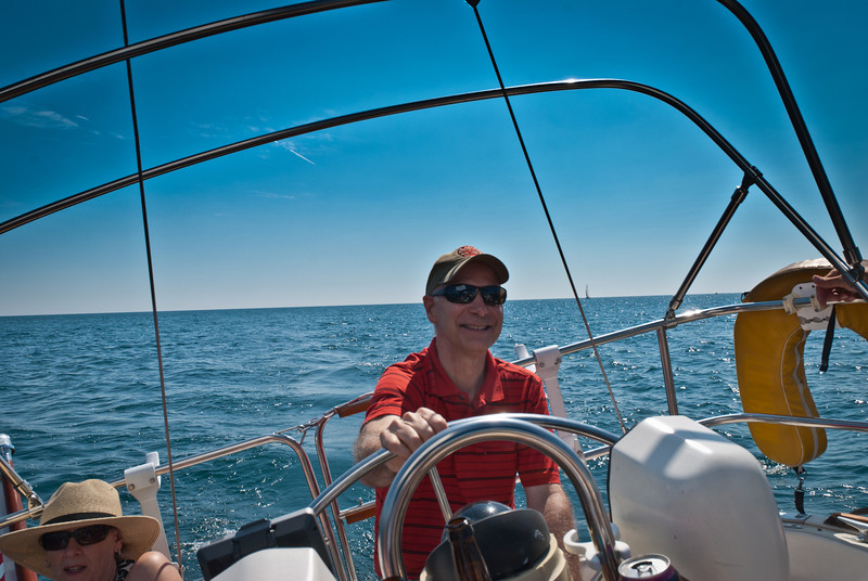 Dave takes the helm. Sally, you OK?