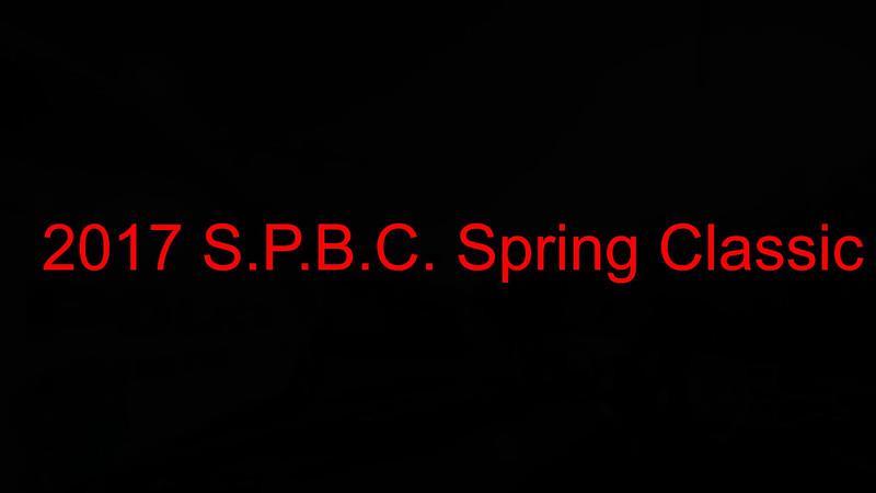 S.P.B.C. 2017 Spring Classic