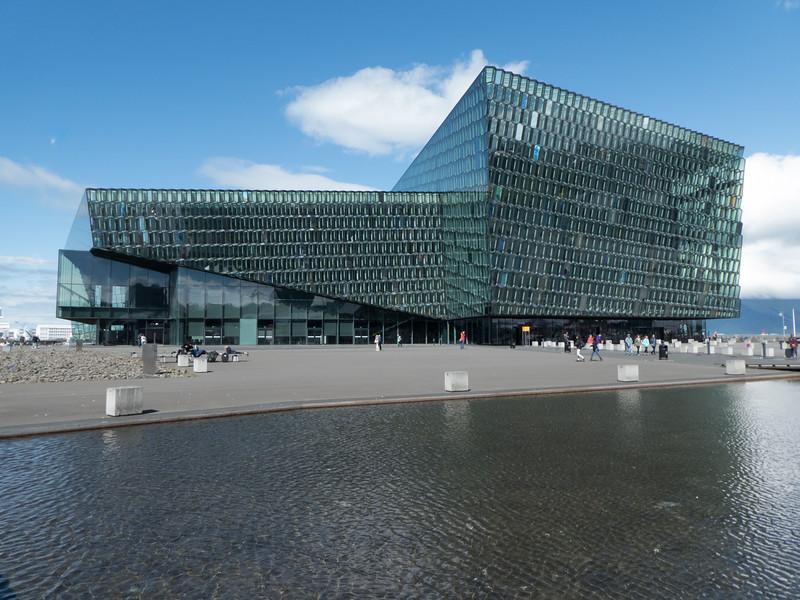 Harpa Concert Hall. Reykjavik