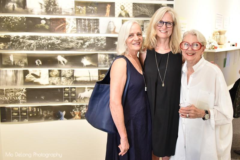 Julia Baker, Lisa Shanower and Donna Wallace Cohen
