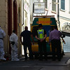 Gibraltar - Bodies removed from flat at Boschetti Steps